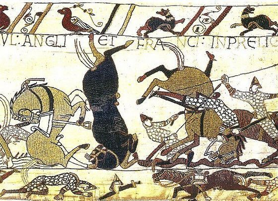 28 september 1066 ♦ Willem de Veroveraar valt Engeland binnen.