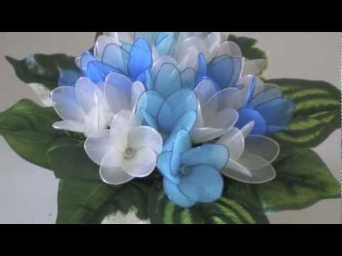 DIY Instruction Handmade Lily of the Valley Wedding Bouquet with Nylon Stocking - YouTube