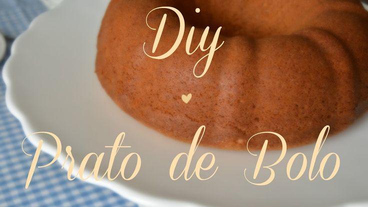 DIY - Cake Stand - Prato de Bolo - Fruteira * Home&Decora #dolixoaoluxo