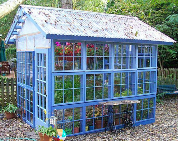 Backhouses and greenhouses