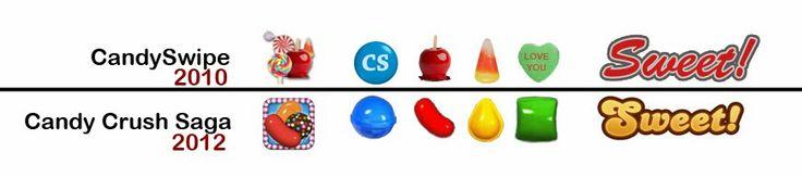 Bir çok kişiyi kendine bağlayan Candy Crush oyununun görselleri, başka bir oyundan alınmış. Candy Swipe isimli oyun sahipleri Candy Crush'ı dava etmiş. İşte haberimiz... candy crush saga davalık oldu