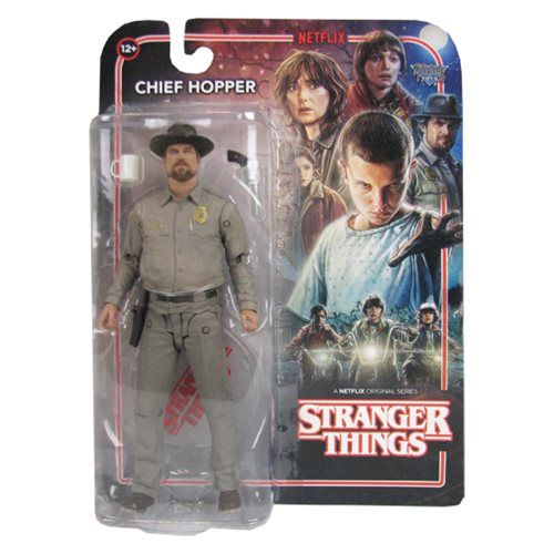 Stranger Things Chief Hopper 7-Inch Action Figure - McFarlane Toys - Stranger Things - Action Figures at Entertainment Earth