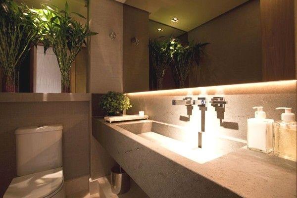 lavabo cuba perda marmore embutida moldada