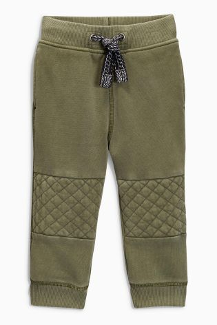 Buy Khaki Quilted Knee Joggers (3mths-6yrs) online today at Next: United States of America