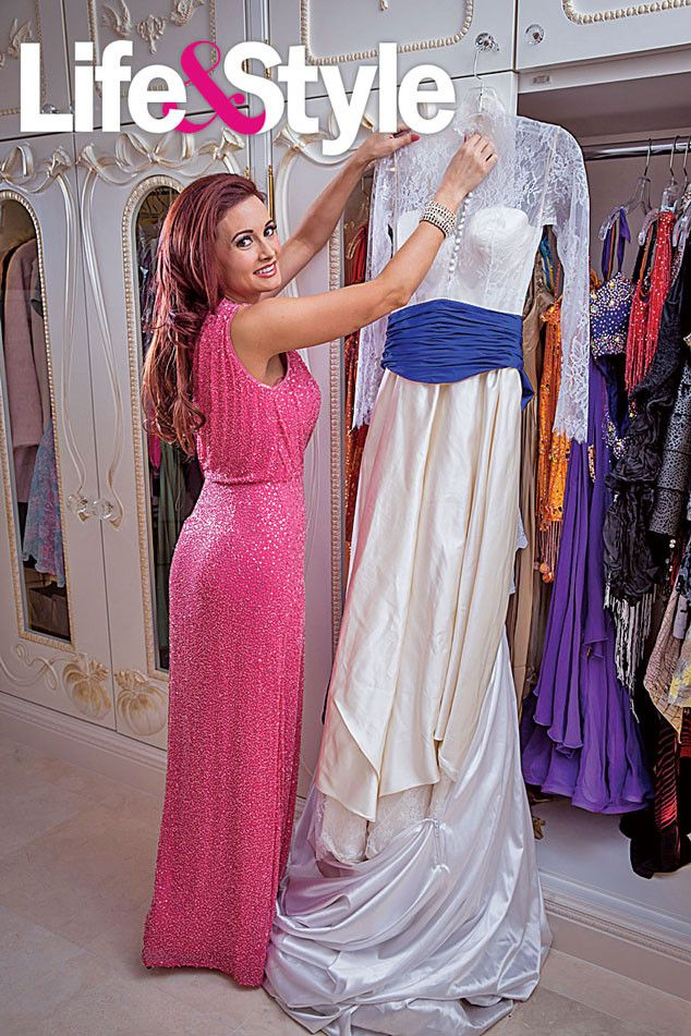 Holly Madison's 500-square-foot Cinderella-inspired closet..