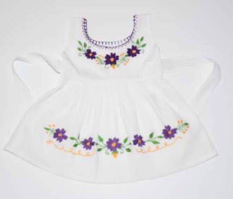 Bordadas de vestido de Veracruz