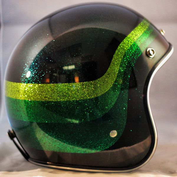 AMF Styled One-Of-A-Kind Biltwell custom painted helmet. SOLD   For more pics: http://sqi.sh/g5B