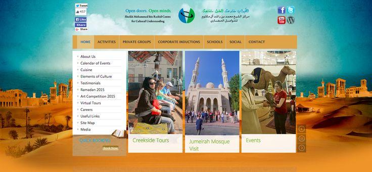 2015, Dubai UAE. Partner Relations for Sheikh Mohammed bin Rashid Centre for Cultural Understanding.