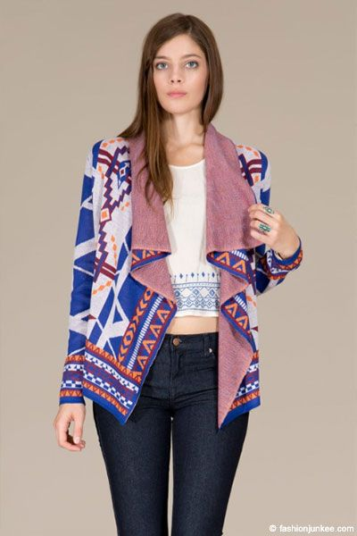 88 best Tribal Print Cardigans images on Pinterest | Cardigans ...
