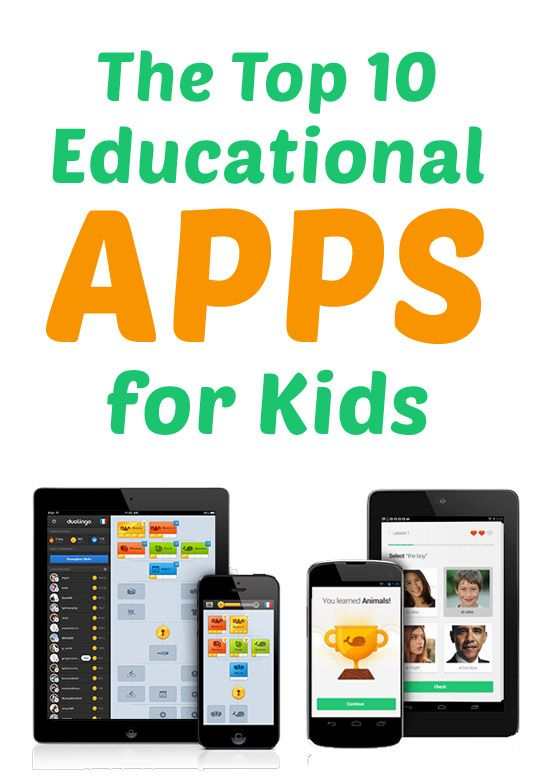 The Top 10 Educational Apps for Kids (and they're free!)