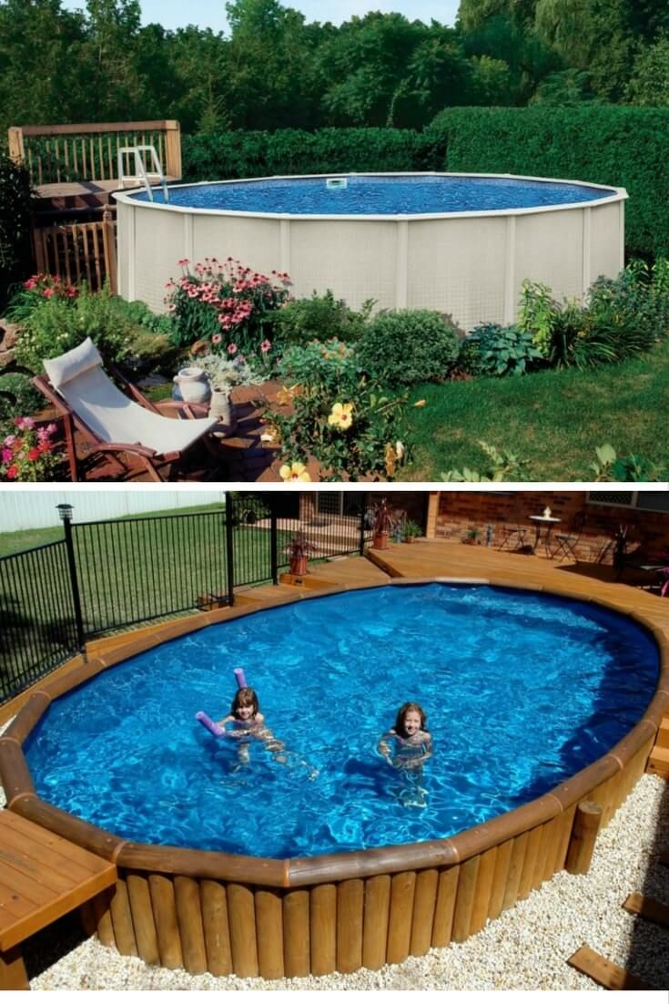 Best 25 above ground pool ideas on pinterest patio - The best above ground swimming pools ...