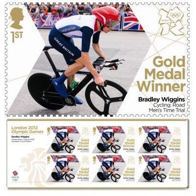 Large image of the Team GB Gold Medal Winner Miniature Sheet - Bradley Wiggins