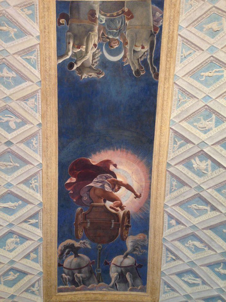 Soffitto  Palazzo Te, Mantova Giulio Romano