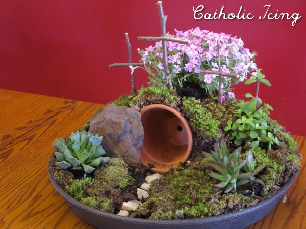 Resurrection Garden; How To Make One Fast, Cheap, And Easy! | Catholic Icing | Bloglovin'
