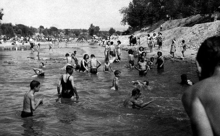 MADRID A PIE DE CALLE - El río Manzanares, Puente de los Franceses - Manuel Urech