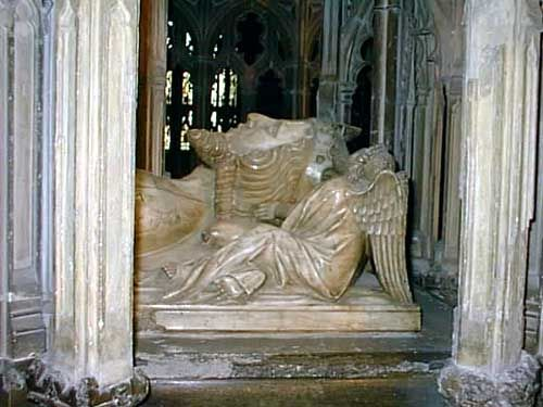 King Edward II (1284 - 1327) - Effigy of the murdered king, Gloucester Cathedral