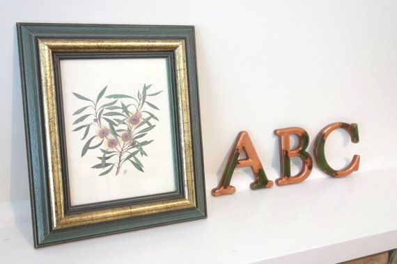 ABC Alphabet Letter Set for Nursery and by WordosaurusText on Etsy, $36.00