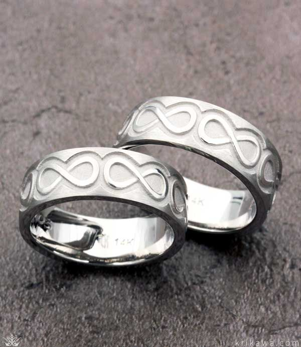 59 best Infinity Symbol Rings images on Pinterest