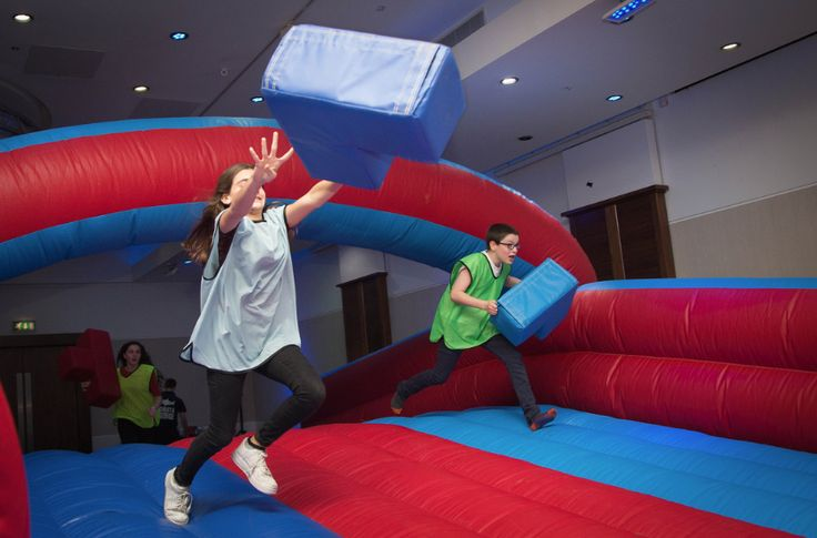 #inflatable #tetris #partyideas #activities #sharkyandgeorge