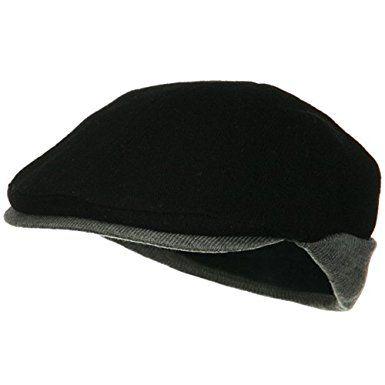 8941cf9e85c Warmer Flap Wool Ivy Cap – Black Grey Review