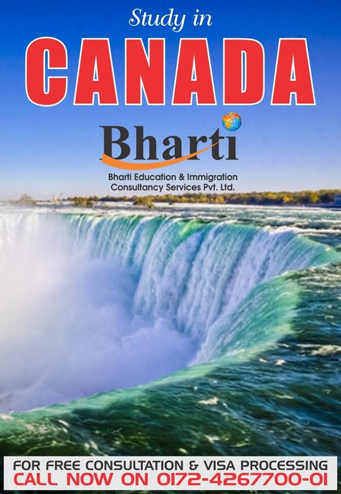 Do you always dream to study abroad ? Here is your chance !  Study in canada, contact Bharti Immigration Get more info @ http://bhartigroup.in/  #bharti #immigration #Bhartiimmigration #chandigarh #bestimmigrationConsultancy #studyvisa #study #visa #abroad #touristvisa #businessvisa #america #Australia #abroadvisa #newzeland #immigrationservices #studyabroad #visaservice #visaconsultant #number1 #company #best #mohali #US #UK #passport #india #cyprus #canada #USA