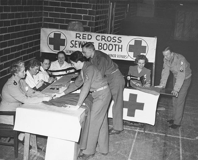 american cross essay history red