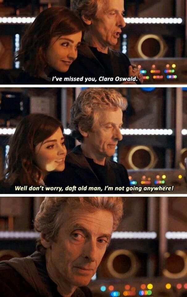 Twelve & Clara #DoctorWho