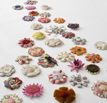 Danish Crafts & Design Association, Crafts fair 2015, textile artist Lotte Myrthue, One for every time she´s away, 4-5-6 December, #officinet Bredgade 66, Cph