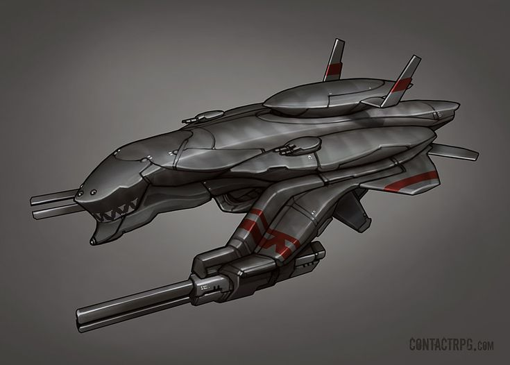 Contact - Barracuda Sub Fighter by Shimmering-Sword on deviantART