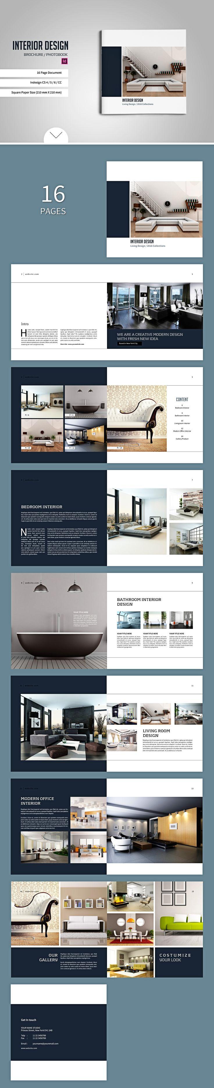 Square Brochure / Catalogs by tujuhbenua on @creativemarket