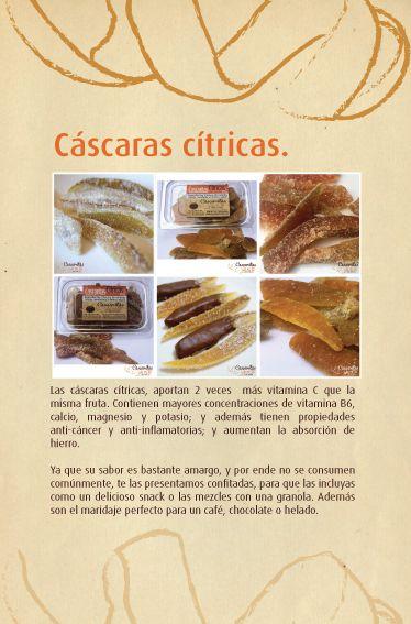 Cáscaras Cítricas
