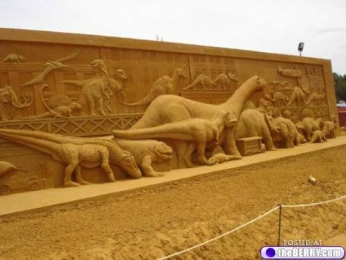 sand sculptures 33 These sand sculptures are ridiculous (41 photos)
