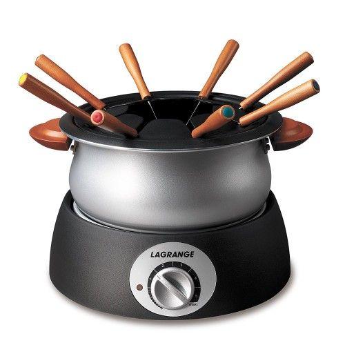 Lagrange 349001 Appareil à fondue Classic Poignées bois: Amazon.fr: Cuisine & Maison