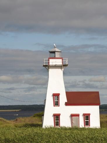 New London Lighthouse, New London, Prince Edward Island, Canada, North America
