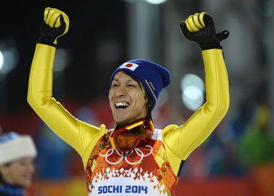 葛西がラージヒル決勝で銀メダル、ストフが2冠 ソチ五輪 写真30枚 国際ニュース:AFPBB News