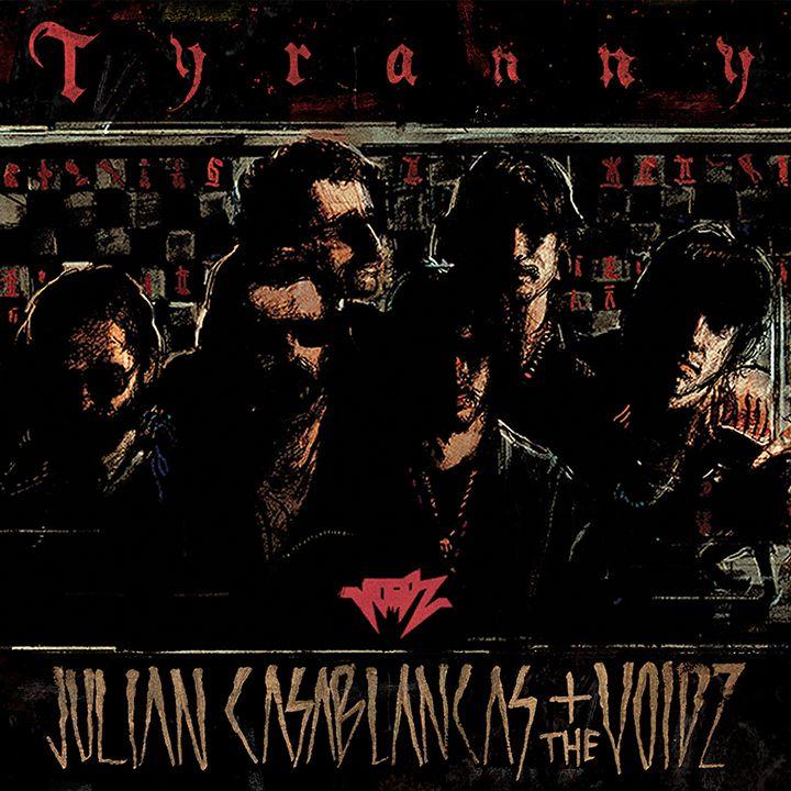 """Tyranny (Cult). Mai sopportati troppo gli Strokes, fin dal blasonatissimo primo album. Ma """"Comedown Machine"""" lo trovo fantastico, come pure questa marciata del Casablancas, un pasticcio garage psichedelico in vhs, fumoso art punk rumoroso e oltre l'eclettico a lambire il fastidio. Trovo sublimi i 10 minuti di """"Human Sadness"""", un pezzo che ascolterei in loop senza mai stancarmi, come anche tutta la sporcizia ostentata come purezza di questa banda di debosciati poser: un magnifico inganno!"""