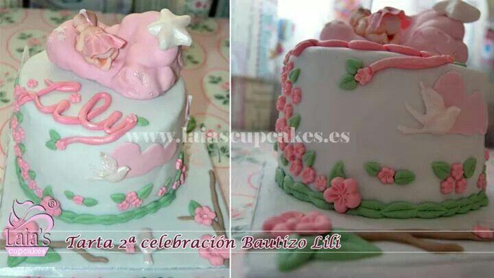 Tarta Bautizo Lily 2 (Laia's Cupcakes)