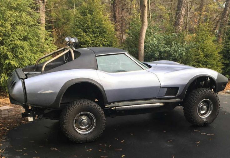 1976 Chevrolet Corvette Stingray, Lifted Chevrolet 4x4 Doomsday Off Road Truck #vehicles #car #motor #vehicle