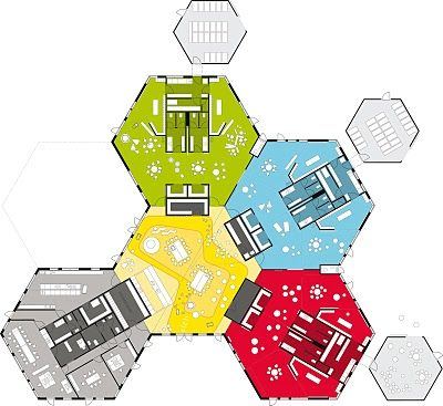 Lucinahaven Day care Center.  A modular spatial layout - enabling future growth.