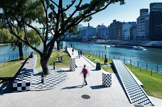 Парк-настольная игра в городе Осака (Япония) | Я и ландшафтный дизайн