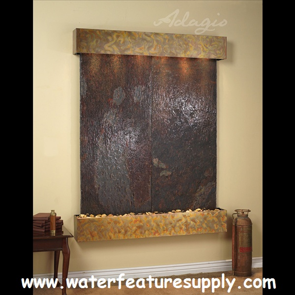 This Contemporary Wall Hanging Water Feature Is Perfect For The Living Room All Of My
