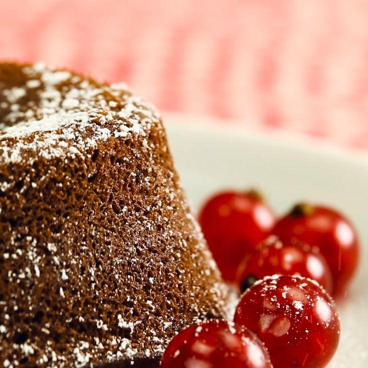 """Schokoladenkuchen """"Moelleux au chocolat""""   – Desserts – Nachtisch – Nachspeise"""