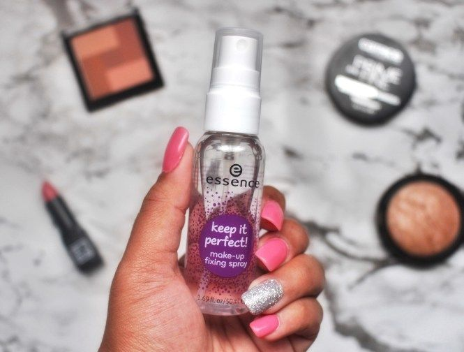 Essence Keep It Perfect Make-up Fixing Spray Review