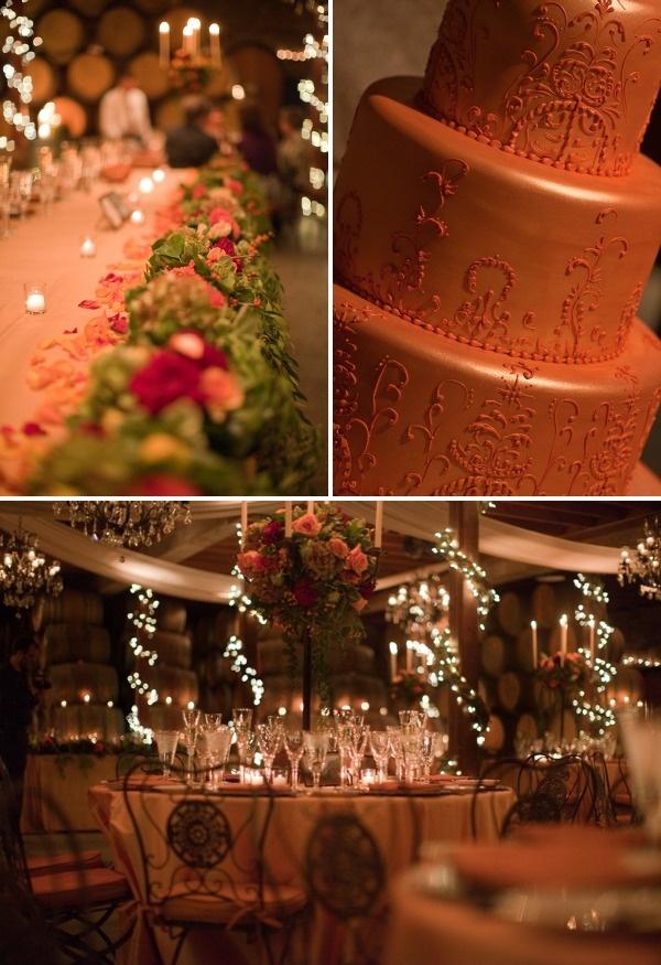 Stunning wedding at V Sattui Winery in St. Helena California