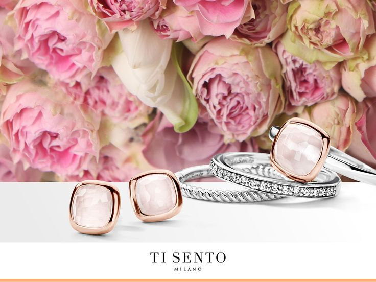 The TI SENTO design team was inspired by little rose buds for this design.