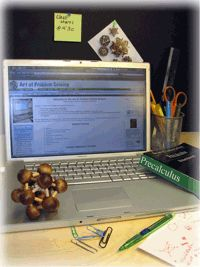 AoPS Online School  http://www.artofproblemsolving.com/School/index.php  Grades 6-12  Prealgebra, Algebra, Probability, Number Theory, Geometry, Precalculus, Calculus, and more...