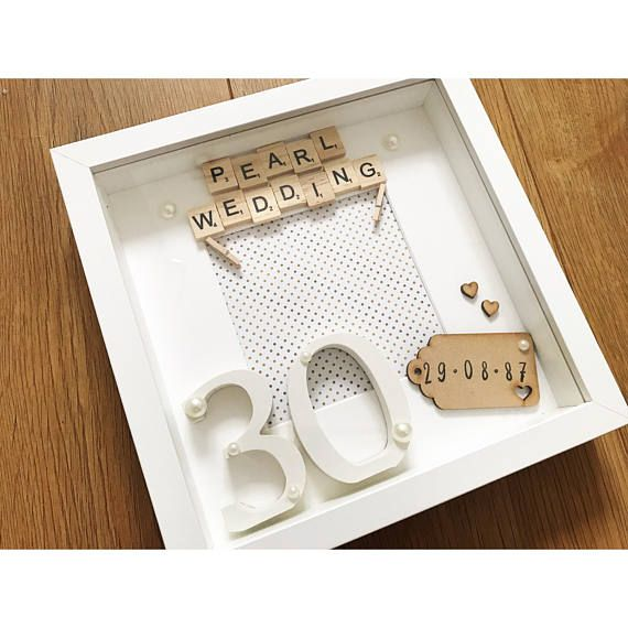 30 Year Wedding Anniversary Gift Ideas For Parents: Pearl Wedding Anniversary Gift, Weddin Anniversary, 30