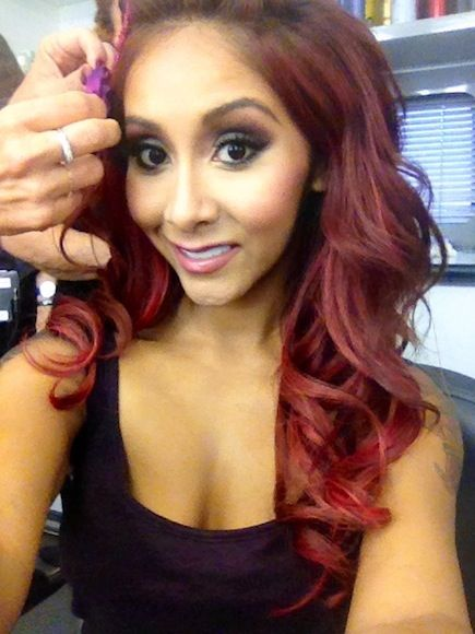 Nicole Snooki Polizzi - DWTS Night One BTS Photos