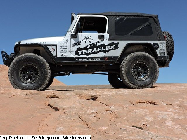 "2005 Jeep Rubicon Unlimited ""LJ"" Starting a new build for SEMA 16 so this perfect example of a rare LJ Rubicon is for sale to make room.  Built to the highest standards for SEMA 15 over $35K in modifications, honored to be invited to the ""Battle of the Builds"".Top ten finisher and one of 3 jeeps selected      * Supercharged / Intercooled Reliable + 200 HP/ +300 TQ at the wheels with stock pulley and 8.5 psi     * 488 Sierra gears     * Rubicon F/R Lockers     * 4in Teraflex Long Arm Kit"