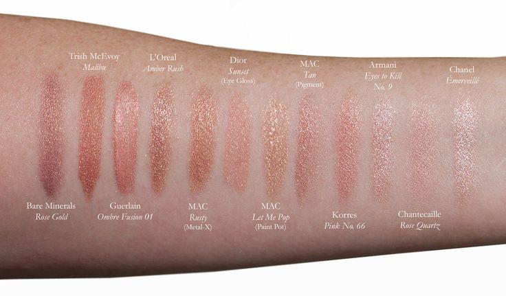 Makeup Magpie Shades Of Rose Gold  Rose Gold, Rose Gold -9721